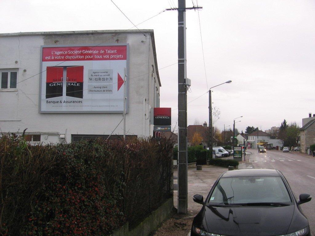 Photo Talant Panneau publicitaire 1